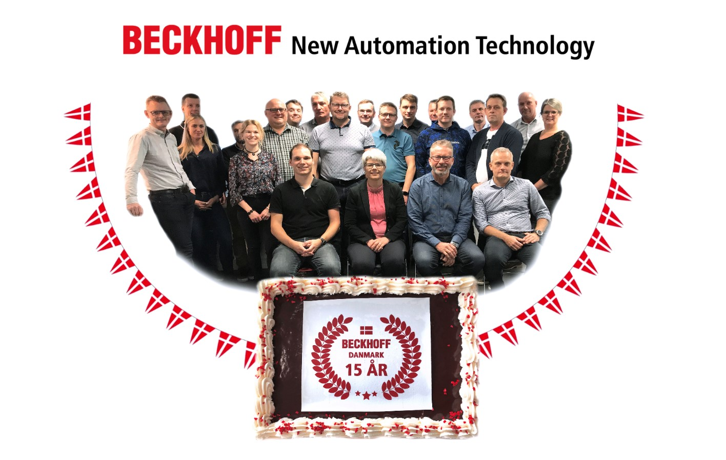 Beckhoff Danmark - 15 års jubilæum