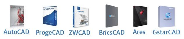 Aktuelle CAD programmer