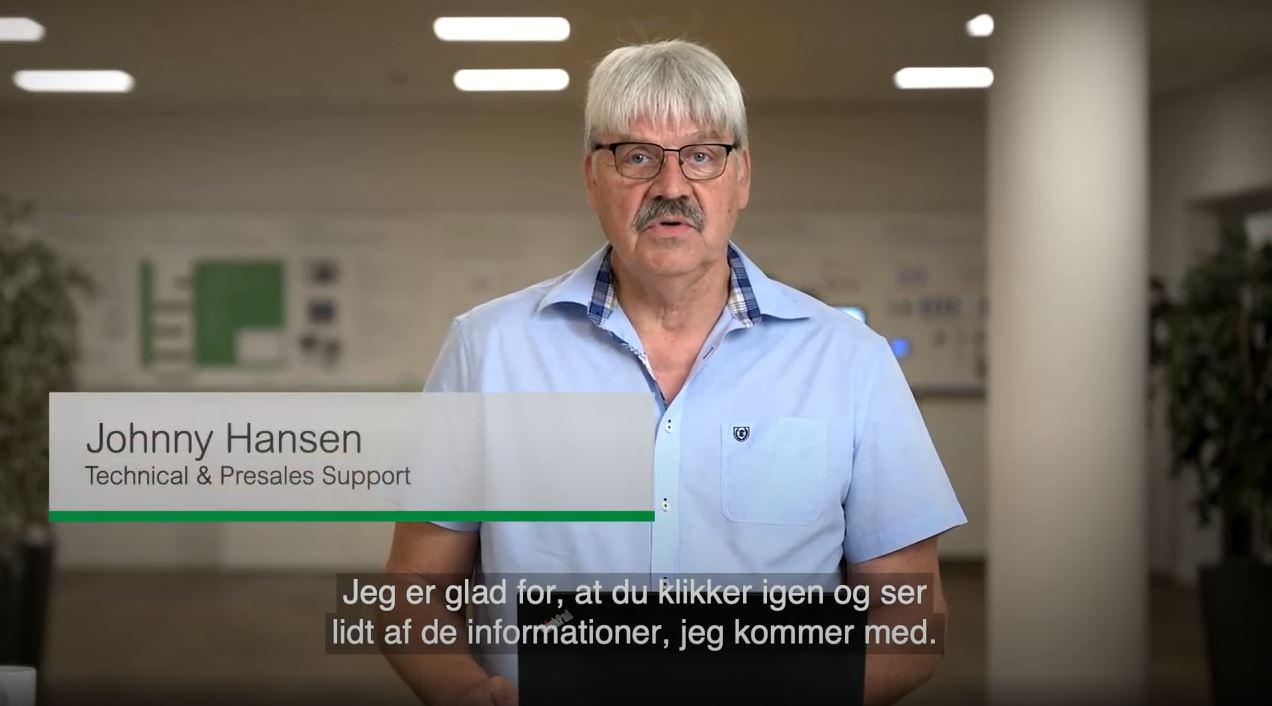 Johnny Hansen giver gode råd til køling af kontor og møderum