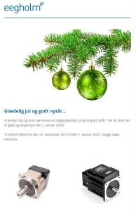 Eegholm nyhedsbrev december 2019