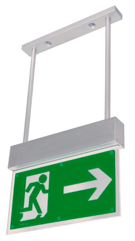 Sikkerhedsbelysning til loftmontage