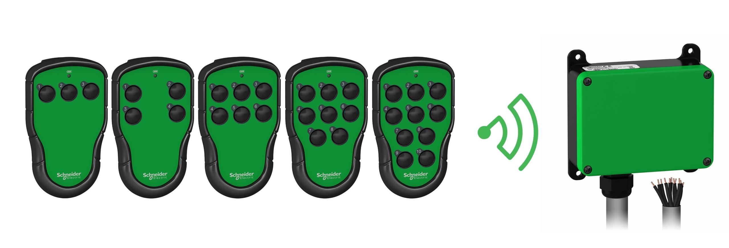 Harmony Pocket Remote er en smart, trådløs fjernbetjening i lommestørrelse, som er nem at have med på fabriksgulvet, i lagerhallen eller ude på marken.