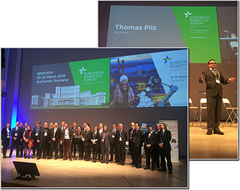 Pilz at the European Robotics Forum 2018