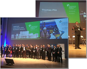 Pilz at the European Robotics Forum 2018