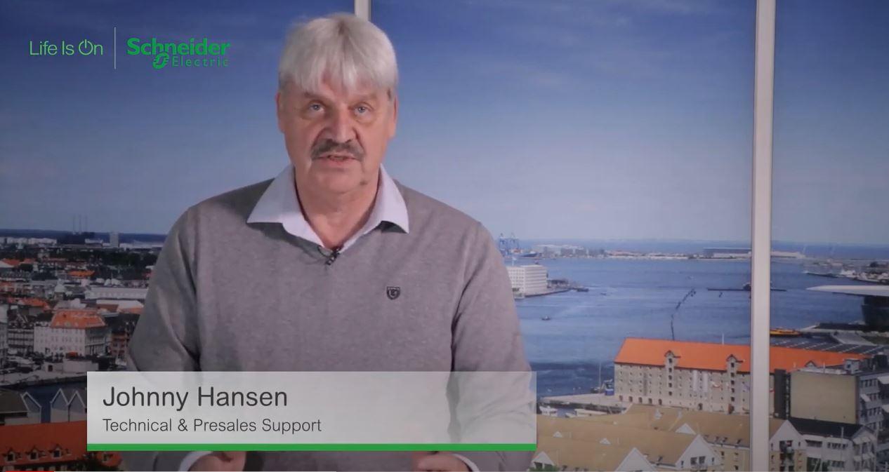 Johnny Hansen fra Schneider Electric giver gode råd til indeklima og temperatur