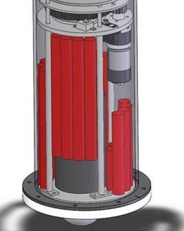 Serie- og parallelforbundet batterier i batteripakke