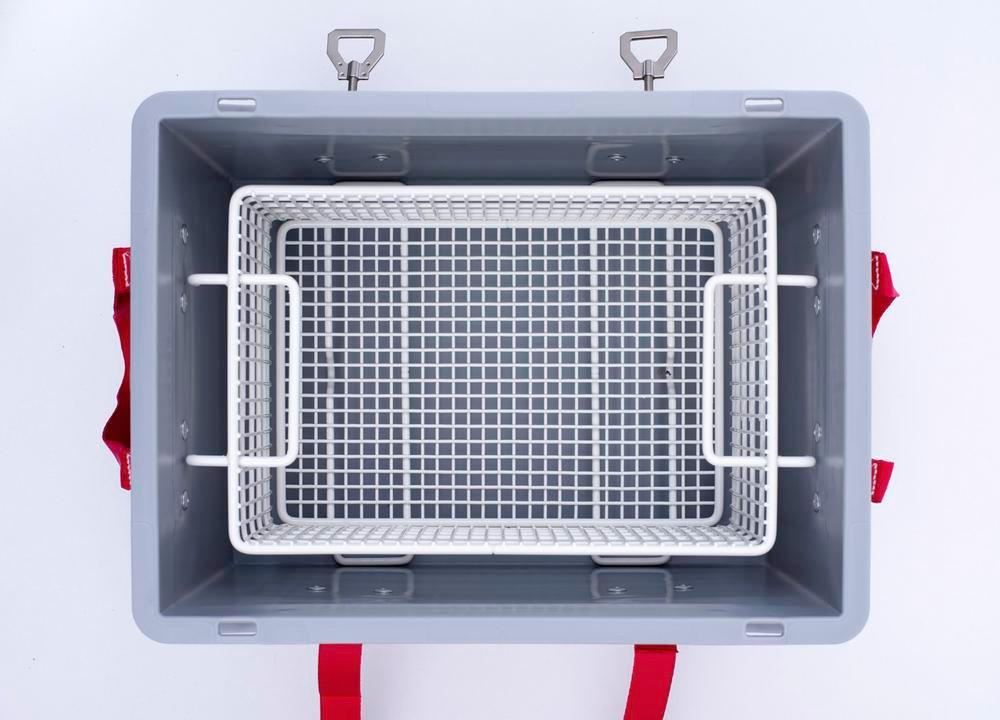 Transportboks til lithium-ion-batterier