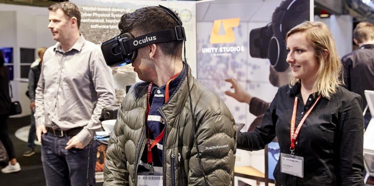 Der bliver rig lejlighed til at kigge nærmere på nogle af de nyeste teknologier, når TECHNOMANIA 2017 afholdes 4.-5. oktober i MCH Messecenter Herning. Foto: MCH/Tony Brøchner