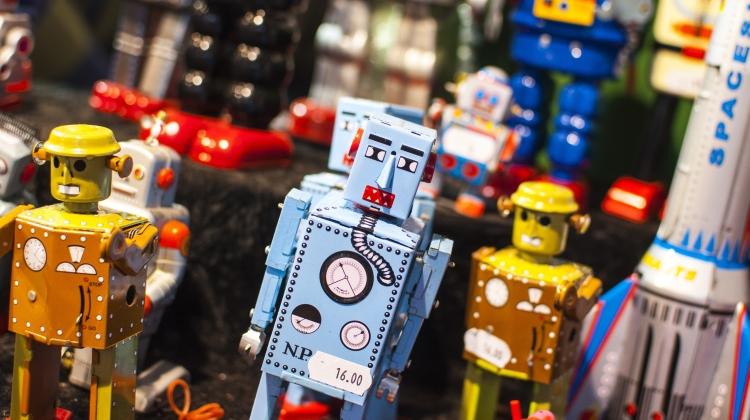 Verdens største samling af robotter