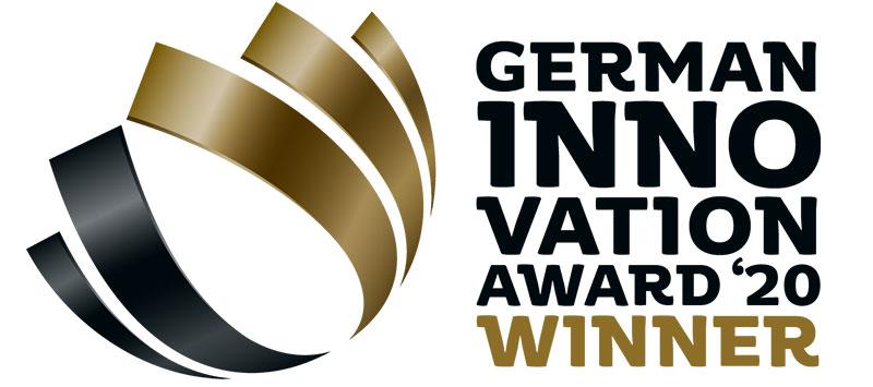 Vinder af tysk innovation award 2020
